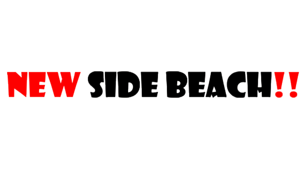 NEW SIDE BEACH!!